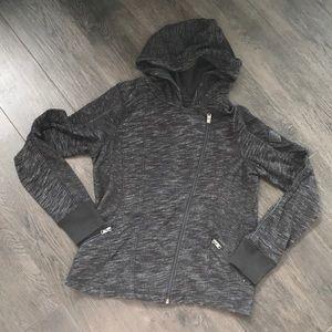 Moto style hoodie